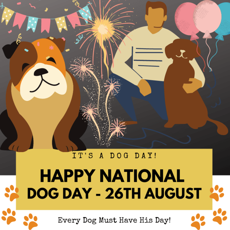 Happy National Dog Day Wishes Images Memes 2021 For Dog Lovers