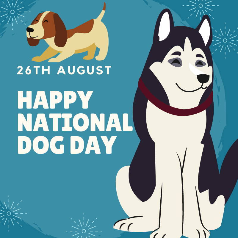 National Dog Day - 26th August