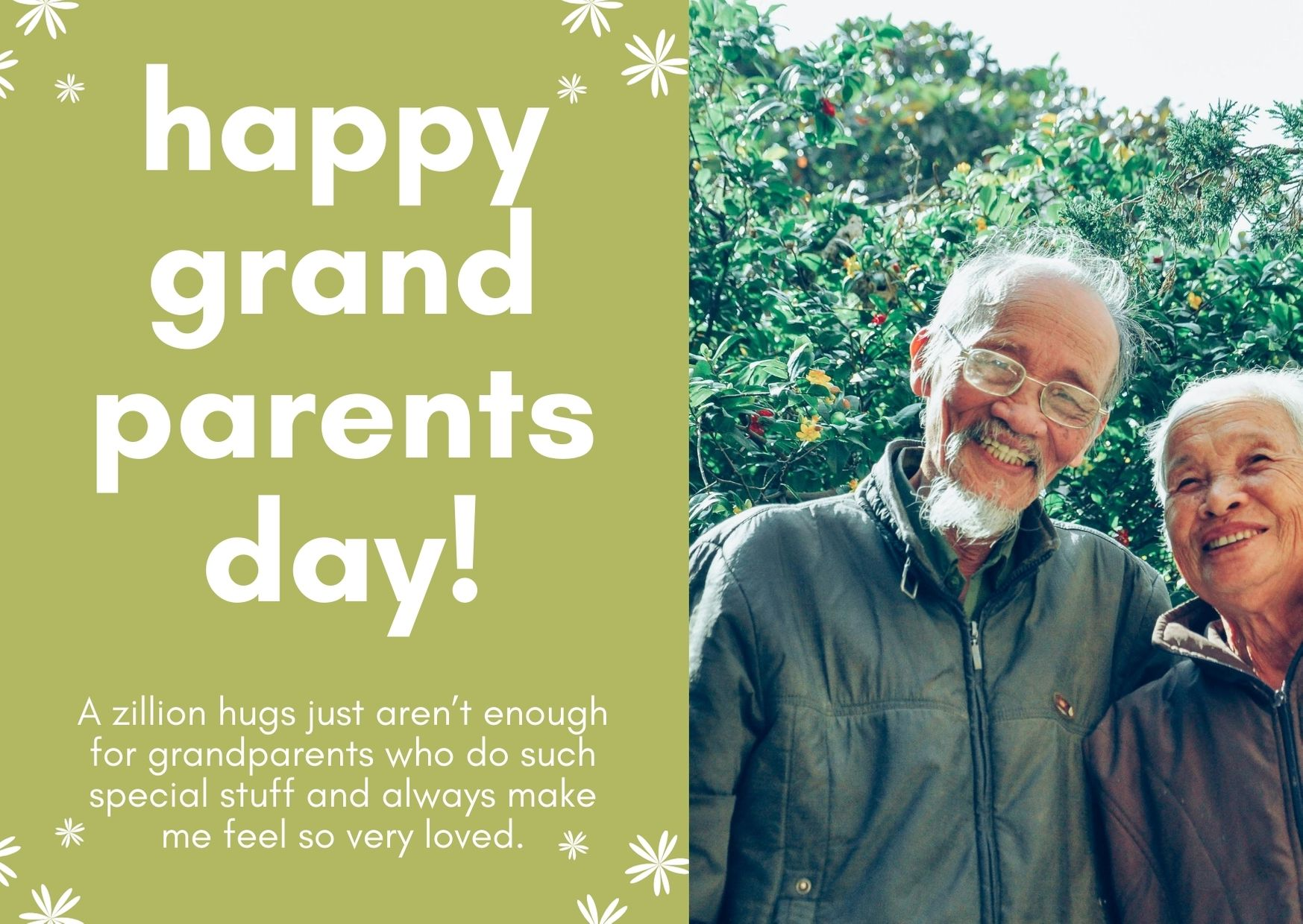 Happy Grandparents Day Wishes Images