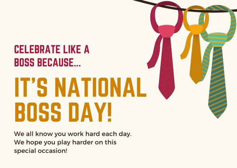 Happy National Boss Day Wishes With Images 2021