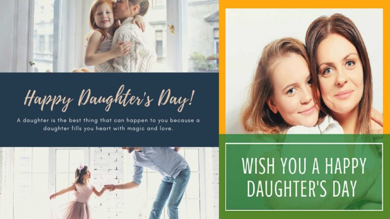 Celebrate National Daughter's Day 2020
