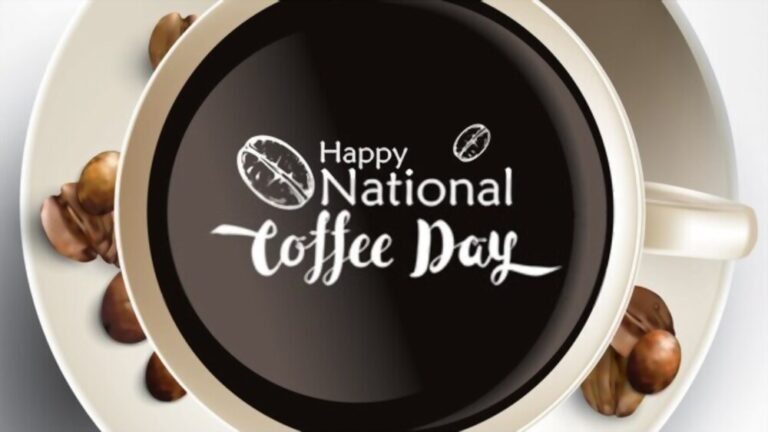 Celebrate Happy National Coffee Day 2020