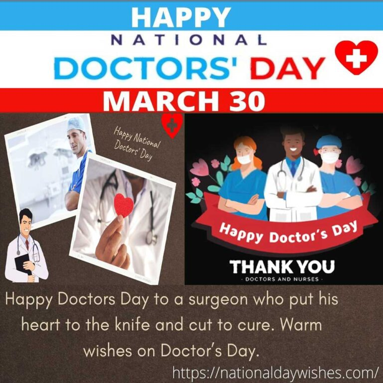 Happy National Doctors 'Day Wishes Quotes Celebration Ideas 2021